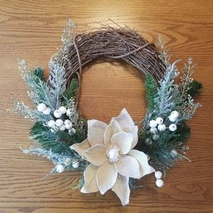 Other - Handmade Winter Chrismas wreath